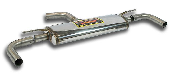 Escape deportivo Supersprint deportivo Supersprint final doble (Iz + Der) AUDI A3 8V 2.0 TDI (110-150-184 Cv) 2012 -