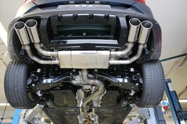 Catback escape deportivo Seat Cupra Formentor 4x4 2.0 310CV colas ovaladas 106x71mm