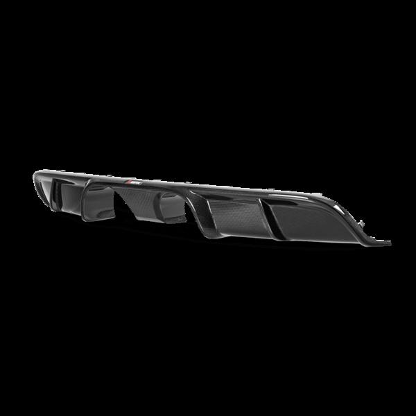 Disfusor parachoques trasero Carbono brillante Akrapovic Porsche 911 Carrera Cabriolet /S/4/4S/GTS (991.2)