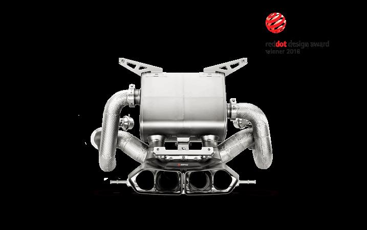 Linea de escape deportiva Akrapovic (Titanium-Inconel) Lamborghini Aventador LP 700-4 Coupe/Roadster