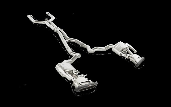 Linea de escape deportiva Akrapovic Evolution (Titanio) Mercedes-AMG C 63 Estate (S205)