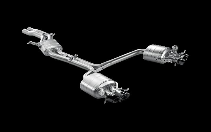 Linea de escape deportiva Akrapovic Evolution (Titanio) Audi RS 4 Avant (B8)