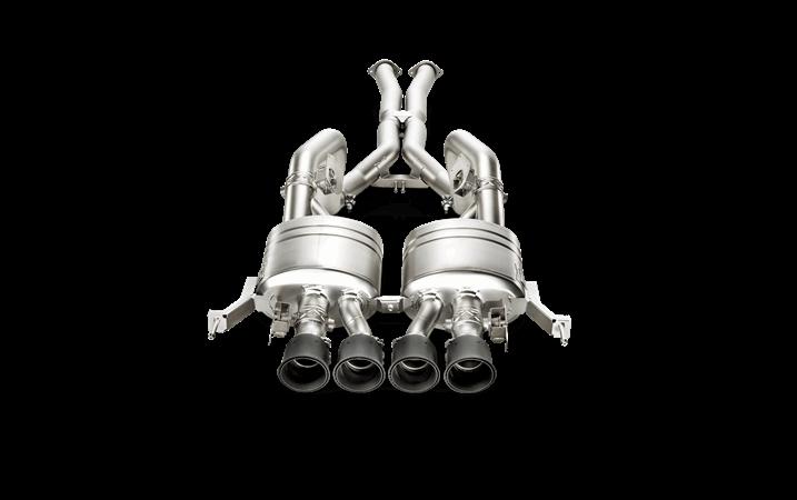 Linea de escape deportiva Akrapovic Evolution (Titanio) Chevrolet Corvette Stingray (C7)