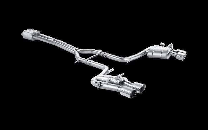 Linea de escape deportiva Akrapovic Evolution (Titanio) Porsche Panamera Turbo S (970)