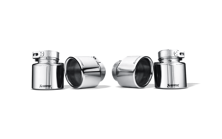 Kit de colas de escape Akrapovic (Titanio) BMW X5 M (E70)