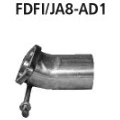 Tubo adaptador a partir del catalizador (st200) Ford Fiesta JA8 ST incluido ST 200 Bastuck