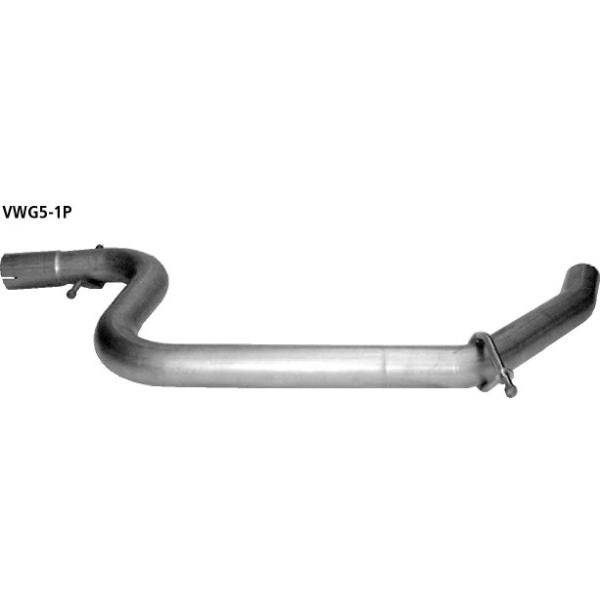 Supresor de Silenciador delantero Volkswagen Touran (excepto Diesel 1.6l FSI 100 CV) Bastuck