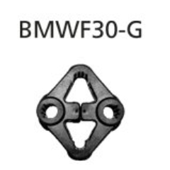 Silentblock de escape el escape final bmwf30-q BMW Serie 3 F30 Diesel 4 cilindros Facelift 2015- Bastuck