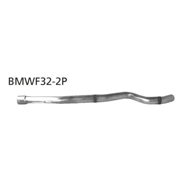 Supresor de Silenciador delantero F33/F36 BMW Serie 4 F36 Diesel 4 cilindros excepto Facelift Bastuck
