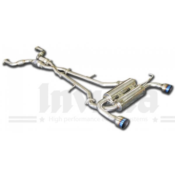 Escape Cat-Back Gemini Infiniti FX35/45 ( S50 ) 03/- Invidia Homologacion CE