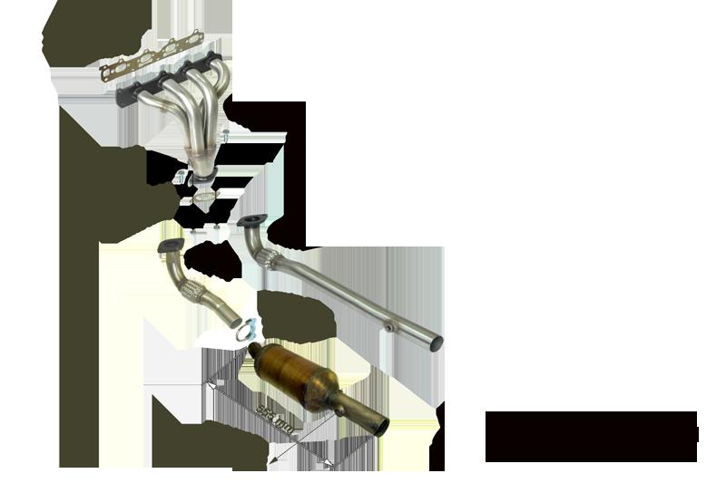 Kit Colectores de Escape para OPEL ASTRA G 2.2I 16V COUPE 147CV