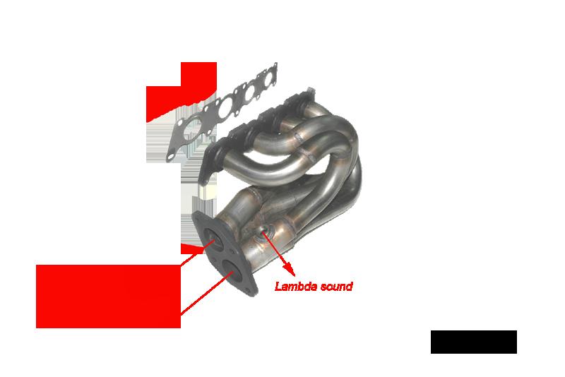 Kit Colectores de Escape para AUDI A4 1.8 20V 125CV 11/94-2000