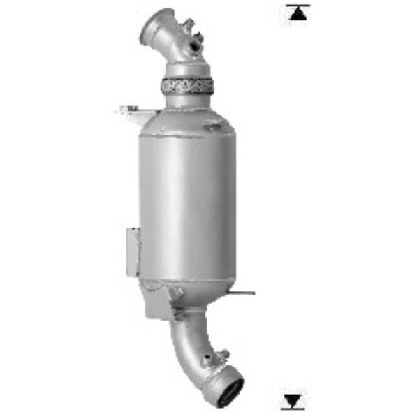 Recambio de Filtro Particulas Diesel DFP FPD VW CRAFTER 2.5TD 163CV Magnaflow