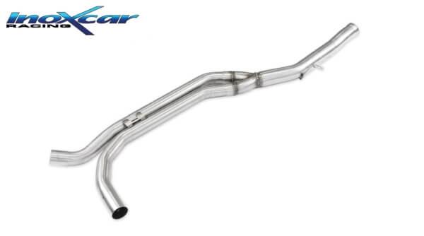 Tramo central de escape deportivo directo sin silenciador Porsche Macan S TDI V6 3.0 250 CV 2013- Inoxcar