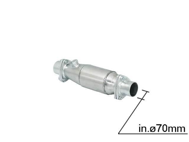 Universal Catalizadores FIA CSAI Metallici Ragazzon Diametro 70mm