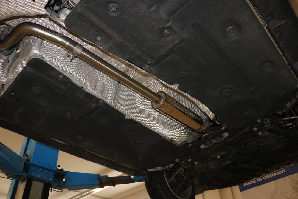 Escape frontal primer tramo Ford Focus III (yoc from 2011) Tunier Ecoboost 1,0l Turnier/ Kombi Front silencer Fox