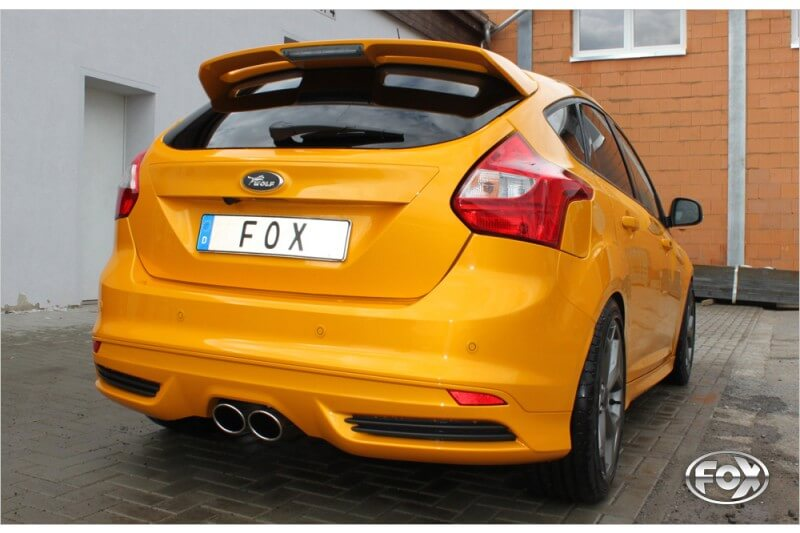 Escape final Ford Focus III (yoc from 2011) ST Hatchback diesel 2x115x85 Tipo 32 center Fox