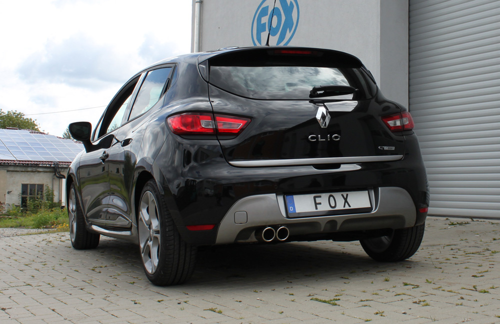 Escape final Renault Clio IV 1,2l 87/88kW 2x76 Tipo 16 Fox