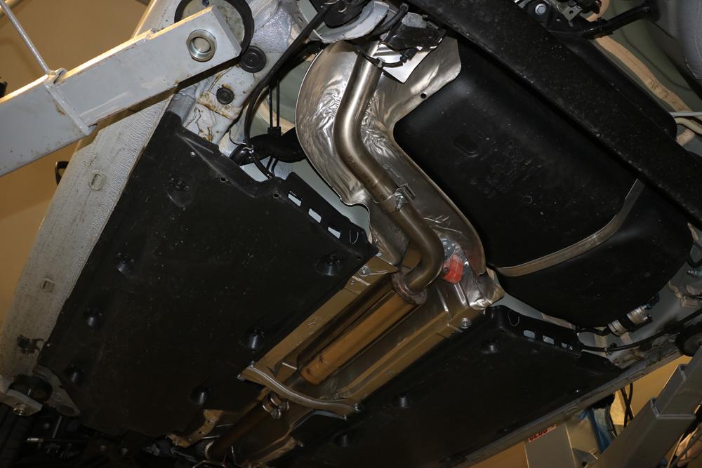Escape frontal primer tramo Seat Ibiza 6J Cupra Fox