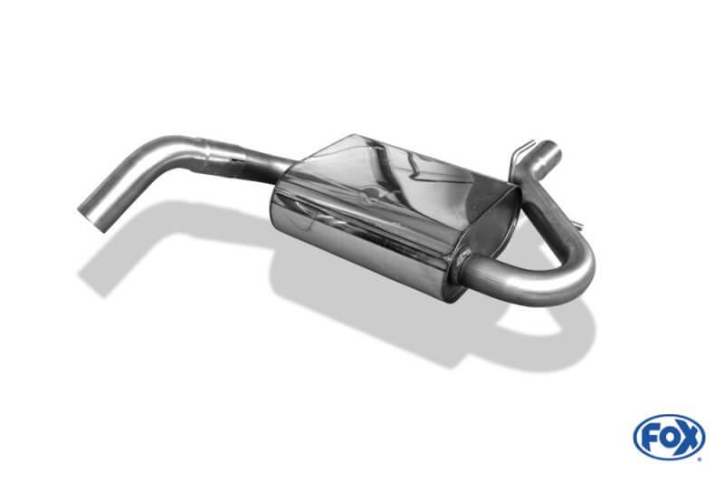 Escape intermedio central VW Golf III Caravan Fox