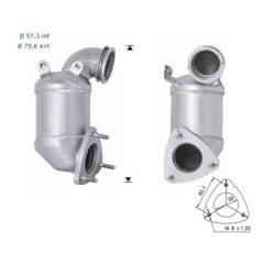 Recambio de Catalizador ALFA 166 2.4JTD 150CV (ant) Magnaflow