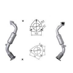 Recambio de Catalizador VW TOUAREG 3.0TD   224CV Magnaflow