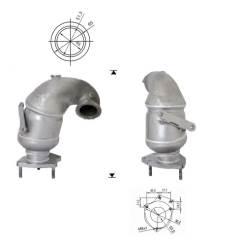 Recambio de Catalizador FIAT STILO 1.9TD JTD   150CV Magnaflow