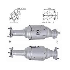 Recambio de Catalizador HONDA ACCORD 2,4I 190CV Magnaflow
