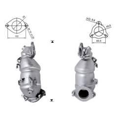 Recambio de Catalizador KIA CEED 1,6TD CRDI  116CV  (A Magnaflow