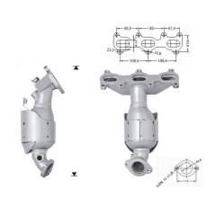 Recambio de Catalizador HYUNDAI TUCSON 2.7i V6 175 CV Magnaflow