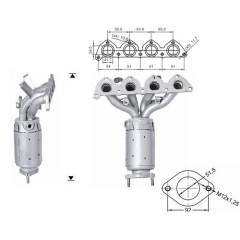 Recambio de Catalizador HYUNDAI TUCSON 2.0i 141CV (ANT Magnaflow
