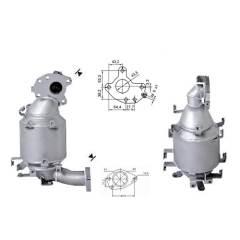 Recambio de Catalizador NISSAN XTRAIL 2.2TD DCi  136CV Magnaflow