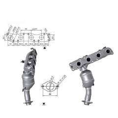 Recambio de Catalizador SUZUKI JIMMY 1.3i 16V 85CV  (A Magnaflow