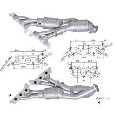 Recambio de Catalizador LEXUS IS 200 155CV (ANT) Magnaflow