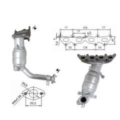 Recambio de Catalizador FIAT IDEA 1.4 95CV Magnaflow