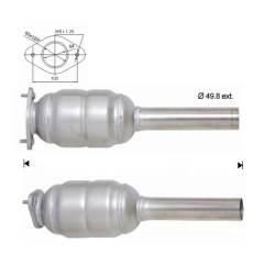 Recambio de Catalizador FIAT PUNTO 1.9D   60CV Magnaflow
