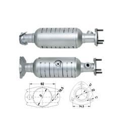 Recambio de Catalizador HONDA HRV 1.6I 16V 105CV Magnaflow