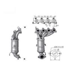 Recambio de Catalizador HYUNDAI GETZ 1.1 12V  63CV Magnaflow