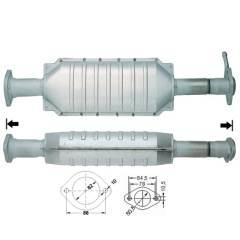 Recambio de Catalizador ALFA 156 2.0I 16V TWIN SPARK Magnaflow