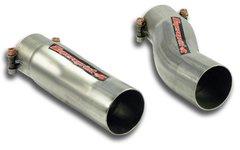 Kit Tubo conexion (Iz + Der) para central de serie (Ø 60mm) MERCEDES W211 E 55 AMG V8 (Berlina +