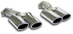 Kit Colas de Escape deportivo Supersprint deportivo Supersprint (Iz + Der) 90x70 MERCEDES X218 CLS Shooting Brake 350 CDI V6 (265 Cv) 2012 -