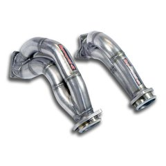 Turbo downpipe (Iz + Der) AISI 310S steel MERCEDES X218 CLS Shooting Brake 63 AMG V8 (M157 5.5i