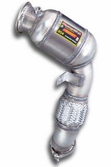 Turbo downpipe kit + metallic Catalizador L. SuperSprint para BMW E71 X6 M V8 Bi-Turbo (555 Cv) 2010-