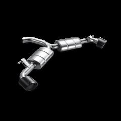 Linea de escape deportiva Akrapovic (Acero Inoxidable) Volkswagen Scirocco R