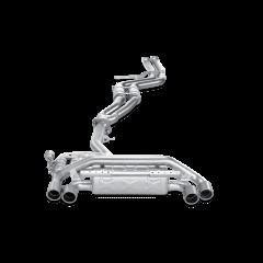 Linea de escape deportiva Akrapovic Evolution (Titanio) BMW Serie 1 M Coupe (E82)