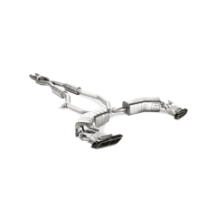 Linea de escape deportiva Akrapovic Evolution (Titanio) Mercedes-AMG S 63 Coupe (C217)