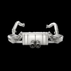 Linea de escape deportiva Akrapovic (Titanio) Porsche Boxster (981)
