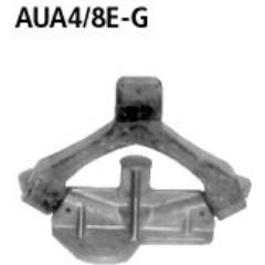 Soporte de aluminio + goma (excepto necesario on turbo ) Seat Exeo (4 cilindros incluido Turbo) + RH Bastuck