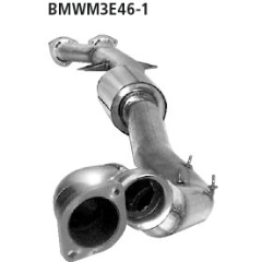 Escape deportivo delantero BMW Serie 3 M3 E46 Coupe, Cabrio Bastuck
