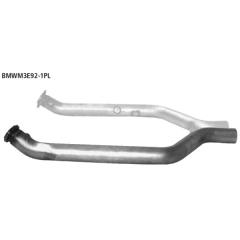 Tubo de conexion que sustituye el catalizador de serie izq. BMW Serie 3 M3 (E90 Saloon + E92 Coupe) Bastuck